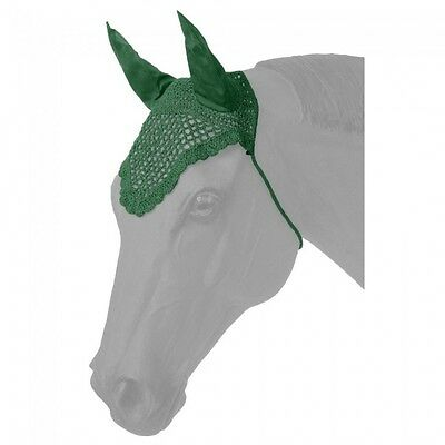 Tough-1 Hunter Green Fly Veil Horse Tack Equine 85-36
