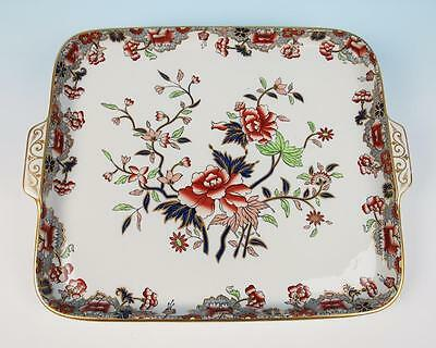 LARGE 19thC. Copeland Imari Handled Serving Tray Antique Porcelain Spode Pottery