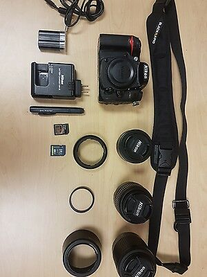 nikon d7000 with everything