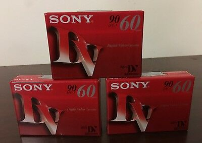 Sony Mini Digital Video Cassette 60 Minutes