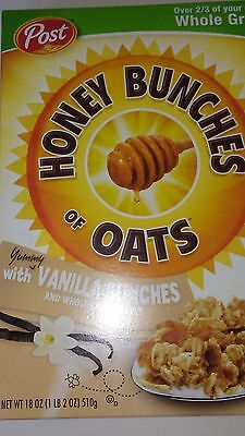 Honey Bunches Of Oats With Vanilla Bunches 36oz