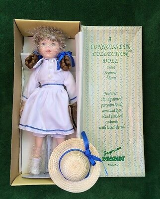 """Connoisseur Collection by Seymour Mann Porcelain Doll 18"""" Patricia New in Box"""