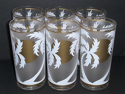6 - PALM BEACH Plastic Glasses w/ Box H.J. Stotter Fifth Avenue New York NY exc.