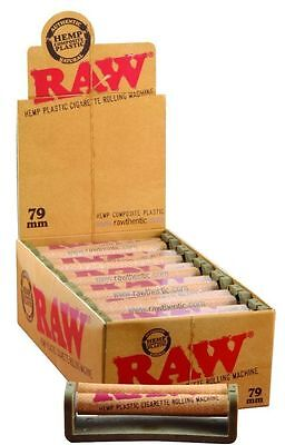 Raw 79mm Rolling Machine - Hemp Plastic Body - Cigarette Roller