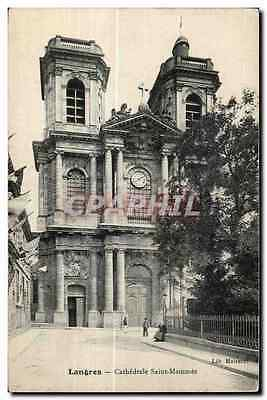 CPA Langres Cathedrale Saint Mammes