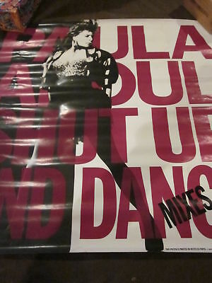 Paula Abdul Shut Up and Dance  #696  In Store Poster