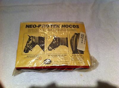 Vintage Miller Harness Co. Neo Pro-Tek Hood (Jowl Sweat) NOS