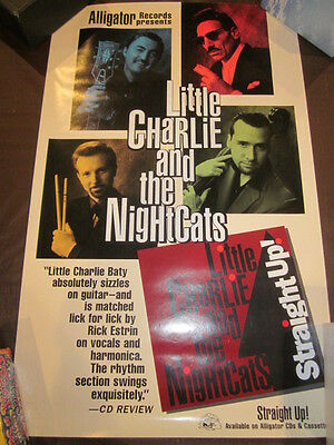 Little Charlie and The Nightcaps Alligator 16 x 26 Original Promo Poster #45 S