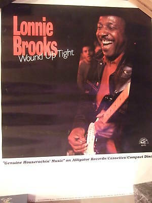 Lonnie Brooks Wound Up Tight In-Store Promo Poster