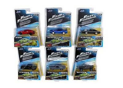 Fast & Furious Build N' Collect Wave 3 Six Cars Set 1/55