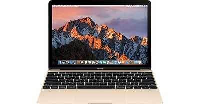 Apple MacBook Gold 256 GB 12'' MLHE2X/A Latest Model 2016 $300+ of EXTRAS