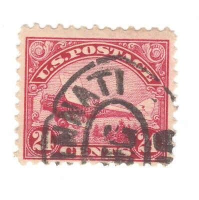 Scott C6 Early US Stamp 24 cent.1918 ...Curtiss Jenny