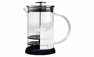 Bialetti Cappuccinatore 3 Cup Glass Manual Milk Frother