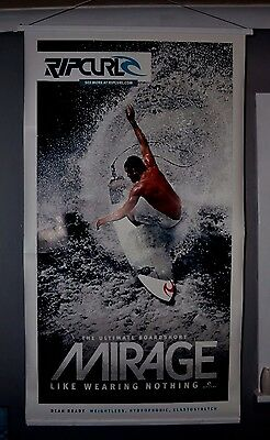 Surfing Poster Ft. Mick Fanning Double sided 110 x 170 cm