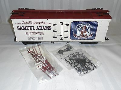 Usa Trains #r-1671  Samuel Adams Refrigerator Car     G Scale   Nib