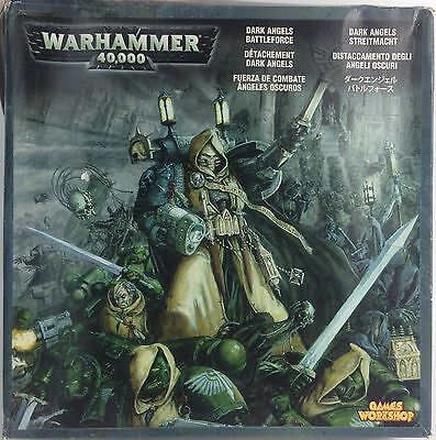 Warhammer 40K Vintage DARK ANGELS BATTLEFORCE Set Citadel MIB Games Workshop
