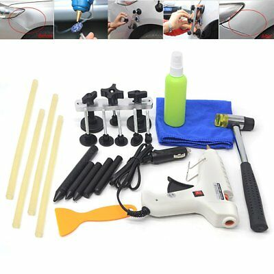 Car Auto Paintless Dent Removal Repair Tools PDR Puller Lifter Glue Tabs Hammer