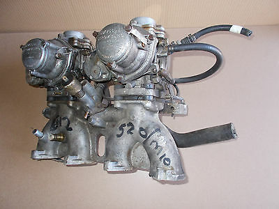 BMW E12 520 M10 Twin Carburetors with Inlet Manifold