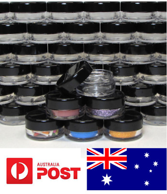 Australia Stock - 20X Cosmetic Sample Container Jars Pot Small Empty 3gram