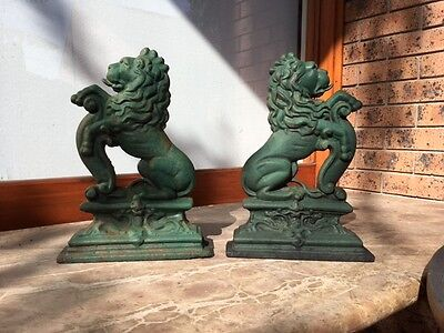 Cast Iron Lion Door Stops