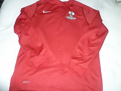 SHIREBROOK TOWN FC football top sweater Size L Large