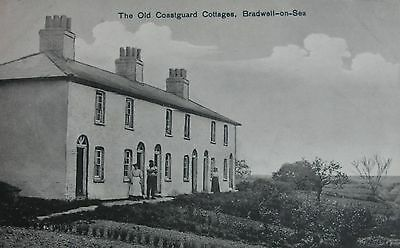 The Old Coastguard Cottages Bradwell On Sea Essex Early Pc