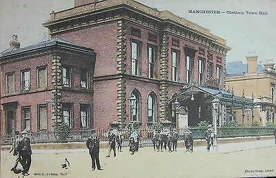 The Town Hall Cheetham Hill Manchester Lancashire 1905 Pc
