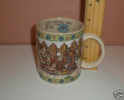 """1998 The Boyds Collection """"A Spoonful of Sunshine"""" Bearware Pottery Works Mug"""