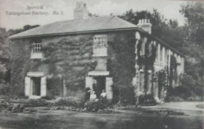 TATTINGSTONE RECTORY NEAR IPSWICH SUFFOLK c1905 PC