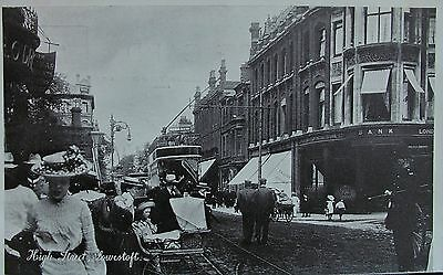 EDWARDIAN DELIGHT HIGH STREET LOWESTOFT SUFFOLK c1905 PC