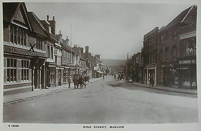 Shopfronts In High Street Marlow Buckinghamshire Early Rp Pc
