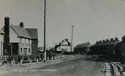 The Main Road West Thurrock Essex 1933 Rp Pc