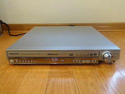 Panasonic SA-HT720 5-Disc CD/DVD Player Home Theater System TESTED Works Great!