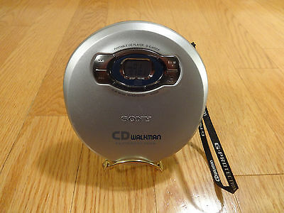 Sony D-EJ612CK CD WALKMAN Portable Compact Disc Player TESTED 100% Works GREAT!