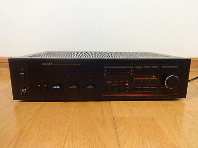 Philips PA-5110B Integrated Stereo Amplifier Phono TESTED 100% Works Great! RARE