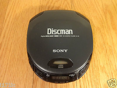 Sony D-151 Discman CD Walkman Portable Compact Disc Player TESTED 100% Working!