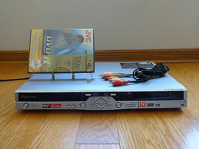 Pioneer DVR-531H 80GB HDD/DVD DVR Video Recorder Player TESTED 100% Works Great!