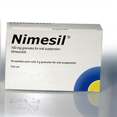 NIMESIL 100 mg 15 sh effective pain relieving action organic herbal product