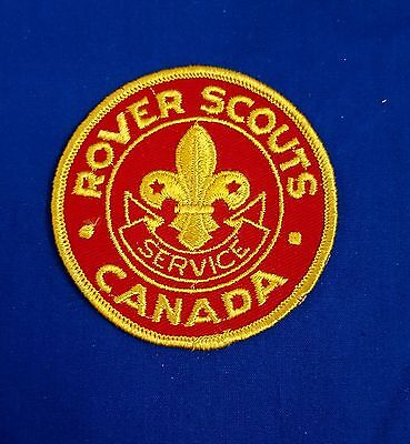 Vintage Canadian Rover Scouts Pocket Patch