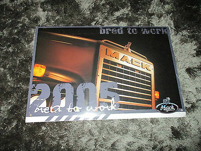 Mack Truck Calendar 2005 - Sealed