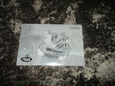 Mack Truck Calendar 2008 - Sealed