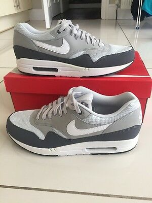 Nike Air Max 1 Essential - Grey And White - UK Size 11