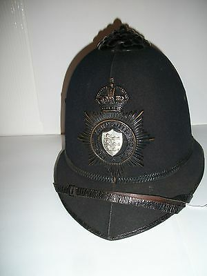 Obsolete Great Yarmouth NORFOLK Police Helmet and Badge