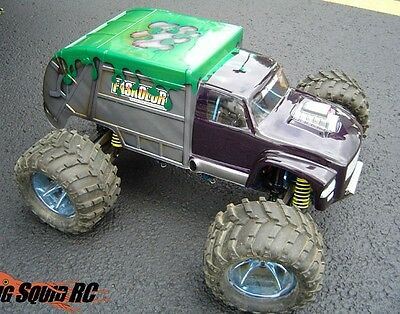 Big Squid RC Garbage Truck Body - 1/8th Scale Monster Truck - NEW