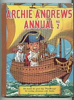 Archie Andrews annual no 2 children's vintage fiction book hardcover illustrated
