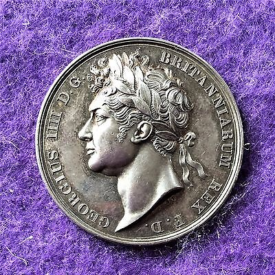 historical medals medallions 1821 George IV, Coronation by B. Pistrucci