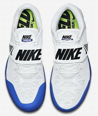NEW Nike Zoom Javelin Elite 2 Track & Field spikes shoes White Blue Men's Size 8
