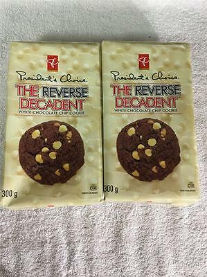 2xReal Canadian Superstore REVERSE DECADENT White Chocolate Chip Cookies Canada