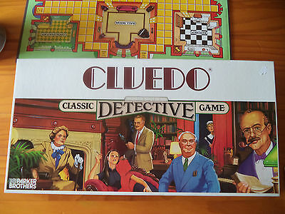 Vintage Classic  Cluedo Board Game - complete 1993