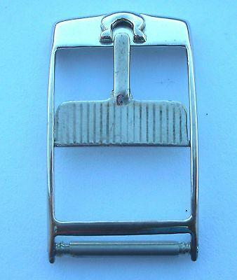 OMEGA VINTAGE   STEEL LONG  BUCKLE WITHOUT LOOP FOR 60s OMEGA WATCHES